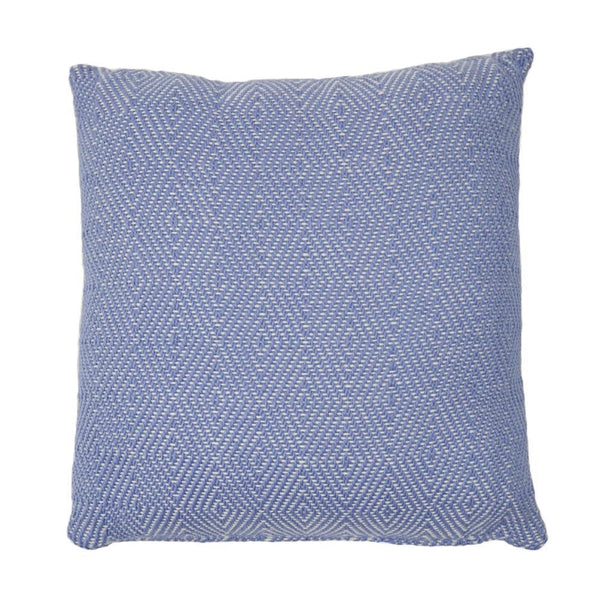 recycled plastic wool feel cushion pillow interior design soft furnishings accessories cobalt blue