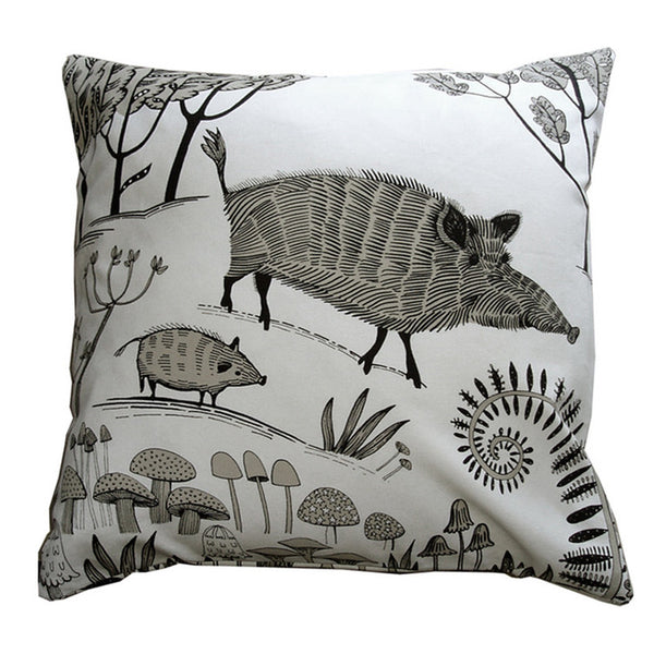 wild boar cushion pig cushion pillow home interior soft furnishing decor