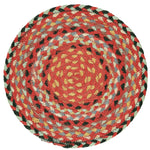 Braided Rug Organic Jute Placemats - Chilli