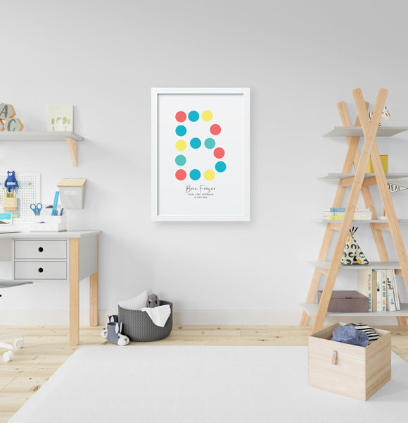 DOTS BIRTH POSTER