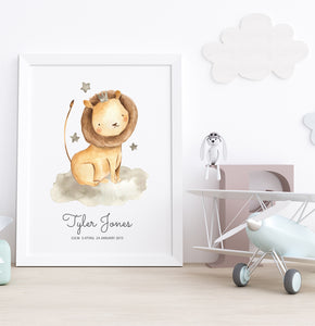 BRAVE HEART BIRTH POSTER
