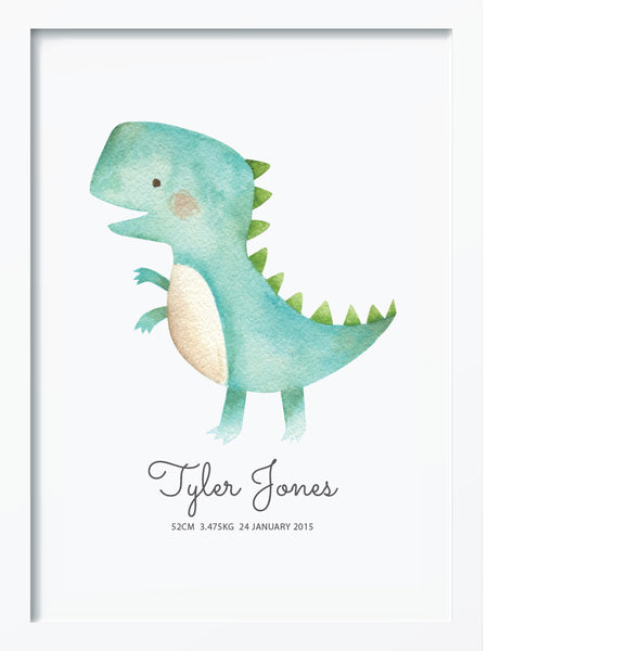 T-Rex BIRTH POSTER