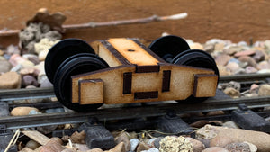 16mm Scale Bowaters Paper Railway Butterley Bogie