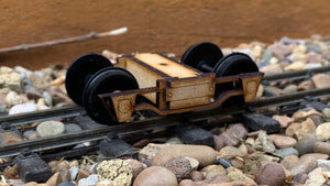 16mm Scale Jackson and Sharp Archbar Bogie