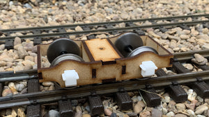 15mm Scale Isle of Man Railway Plate Frame Bogie
