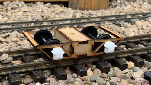 15mm Scale Isle of Man Railway Archbar Bogie