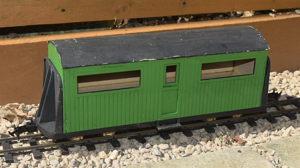 16mm Scale Bowaters Paper Railway Staff Coach No.641
