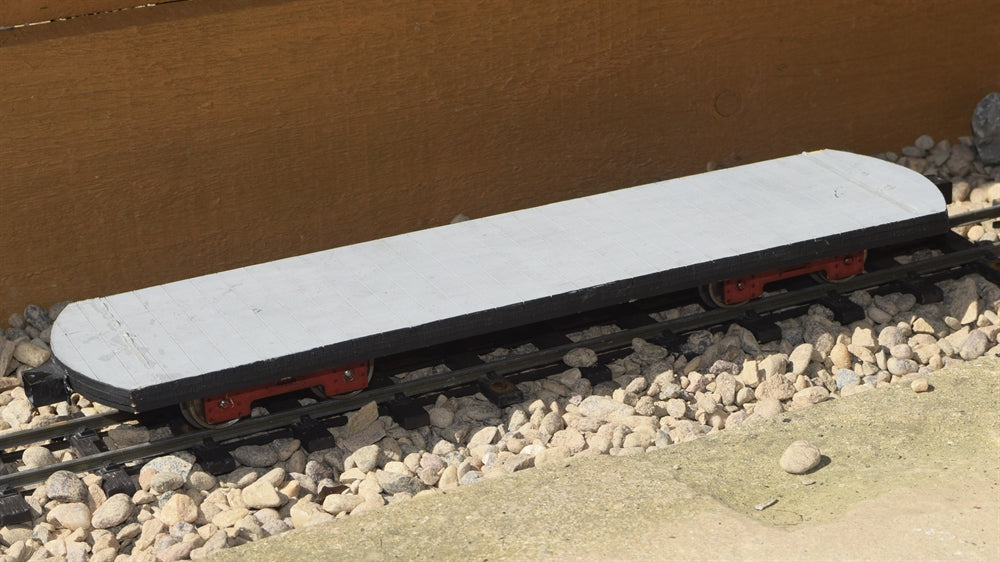 16mm Scale Bowaters Paper Railway 10 Ton Bagnall Flat Wagon