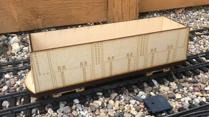 16mm Scale Bowaters Paper Railway 20 Ton Coal Wagon