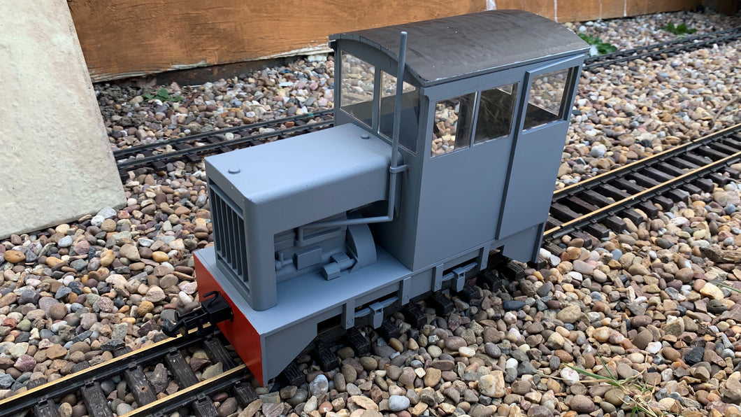 7/8ths Scale Bowaters Paper Railway Hudson Hunslet 'Victor'