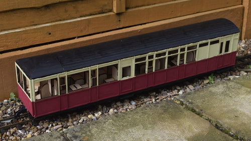 16mm Scale Ffestiniog Railway All 1st Observation Coach No.102