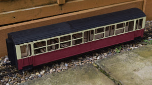 16mm Scale Ffestiniog Railway Composite Coach No.112/113