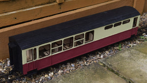 16mm Scale Ffestiniog Railway Buffet Coach No.114