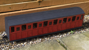 16mm Scale Ffestiniog Railway All 3rd Coach No.22