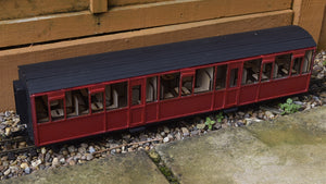 16mm Scale Ffestiniog Railway Composite Coach No.104