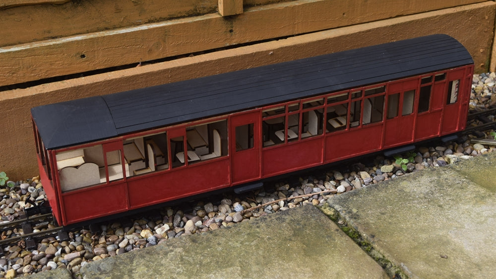 16mm Scale Ffestiniog Railway All 3rd Observation Coach No.123
