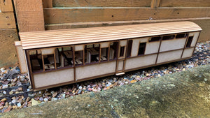 16mm Scale Ffestiniog Railway All 3rd Buffet Coach No.103