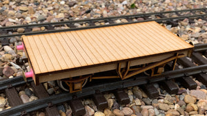 1:32 Scale 10ft Wheelbase Wagon Chassis