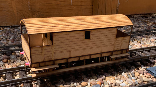 1:32 Scale LBSCR 25 Ton Brake Van
