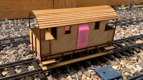 1:32 Scale LSWR 22 Ton Brake Van