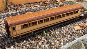 1:32 Scale SECR Continental 7 1/2 Compartment 2nd/3rd Class Coach