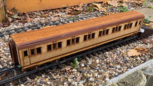 1:32 Scale SECR Continental 6 1/2 Compartment 1st/3rd Class Coach