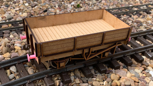 1:32 Scale LSWR 15ft Ballast Wagon
