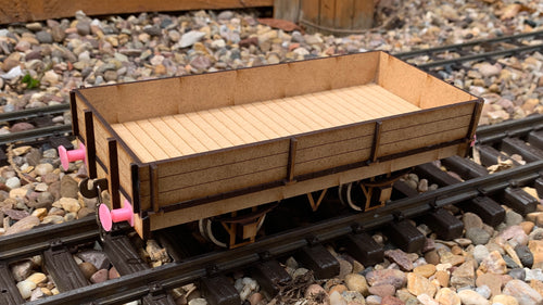 1:32 Scale LSWR 18ft Ballast Wagon