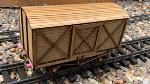 1:32 Scale LSWR Box Van