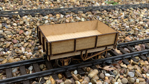 1:32 Scale LSWR 4 Plank Open Wagon