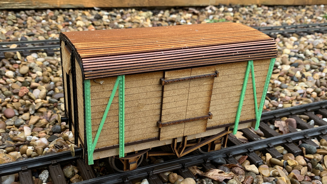1:32 Scale SECR 10 ton Covered Goods Van