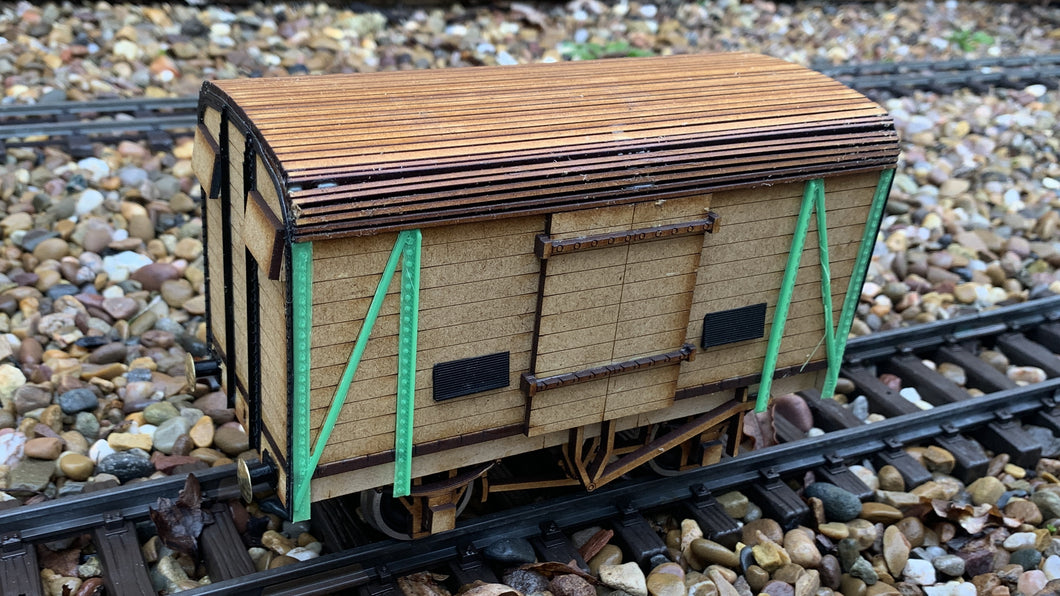 1:32 Scale SR 12 ton Covered Van (Dover Ferry Van)