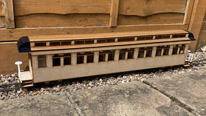 16mm scale Bridgton and Saco River Railroad Coach 17