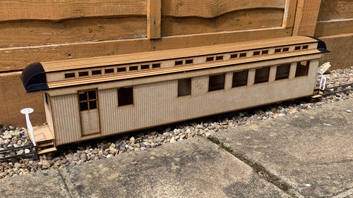 16mm scale Bridgton and Saco River Railroad Combine 25