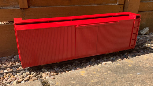 16mm Scale Bridgton and Saco River Railroad 26ft Box Car