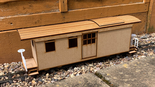 16mm Scale Bridgton and Saco River Railroad Caboose 301
