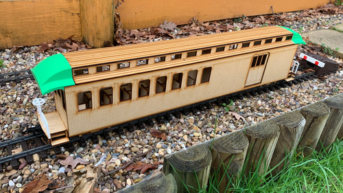 16mm scale Sandy River and Rangeley Lakes Railroad Combine 11
