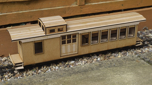 16mm Scale Sandy River and Rangeley Lakes Railroad Caboose 553