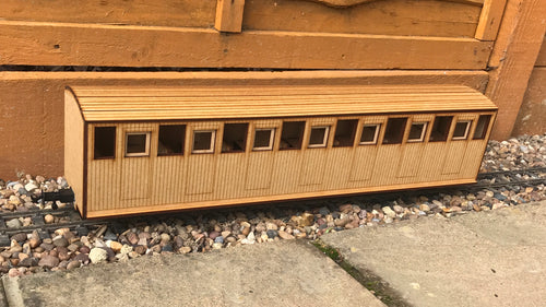 16mm Scale Welsh Highland Railway Heritage Coach No.23