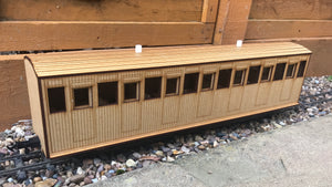 16mm Scale Welsh Highland Railway Heritage Coach No.24