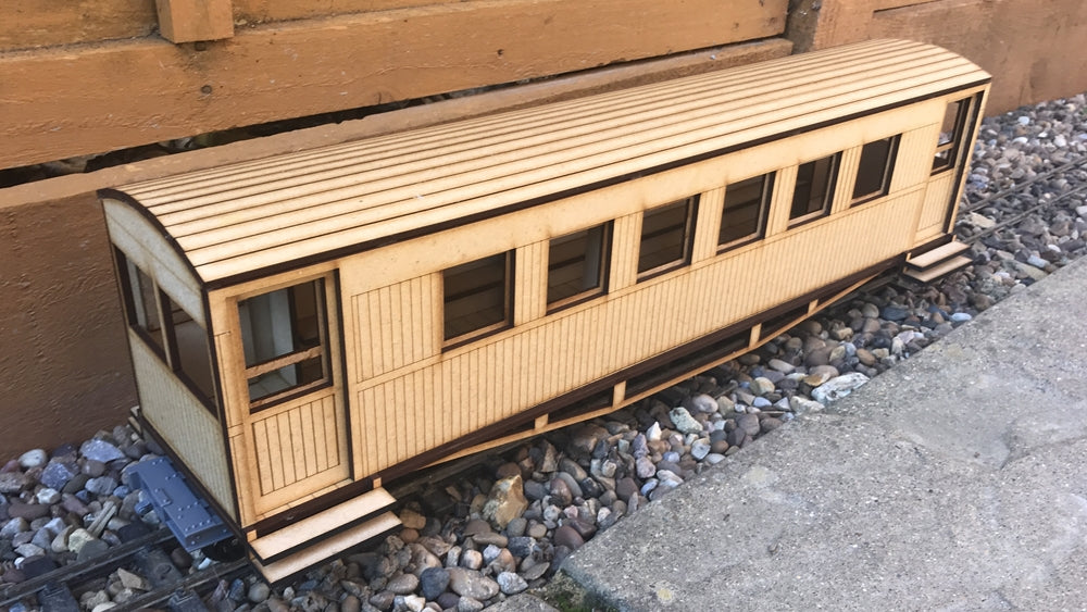 16mm Scale Ashover Railway Coach