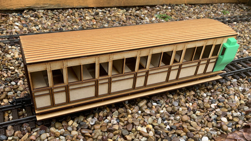 15mm Scale Isle of Man Railway Manx Northern 'Foxdale' Coach