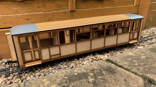 16mm Scale Ffestiniog Railway All 1st Observation Coach No.111