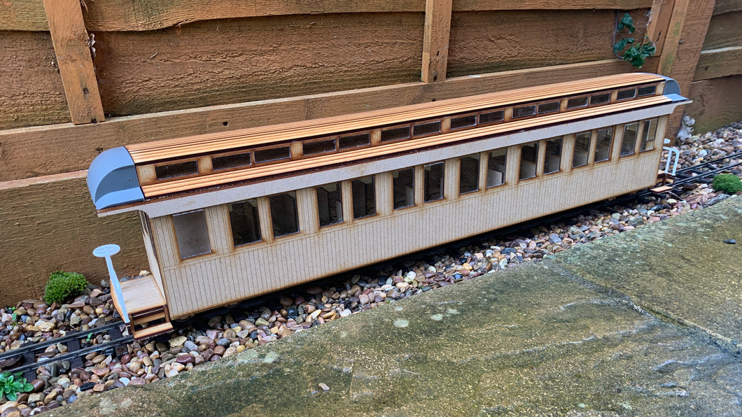 16mm scale Sandy River and Rangeley Lakes Railroad Coach 21/22