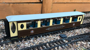 16mm Scale Welsh Highland Railway Pullman Coach No.2115 'Bodysgallen'