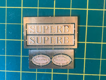 Load image into Gallery viewer, 16mm Scale Bowaters Paper Railway Nameplate Set