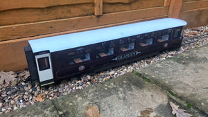 16mm Scale Welsh Highland Railway Pullman Coach No.2100 'Glaslyn'