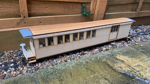 16mm scale Sandy River and Rangeley Lakes Railroad Combine 14 - As rebuilt
