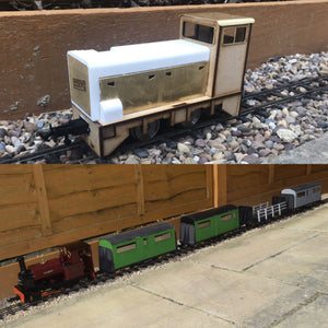 16mm Scale RNAD Diesel Bowaters Passenger Multipack