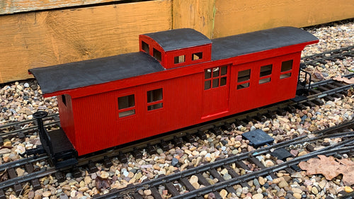 16mm Scale Sandy River and Rangeley Lakes Railroad Caboose 551